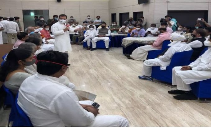 देखे मोदी विरोधी चाय पार्टी का उबाल ,14 विपक्षी दल शामिल हुए राहुल गाँधी के चाय पार्टी