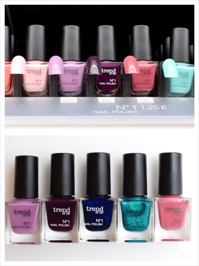 trend IT UP No.1 Nagellacke, neue Farben, neues Sortiments Update