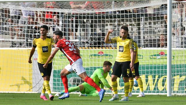اهداف مباراة بوروسيا دورتموند وفرايبورج (2-1) الدوري الالماني