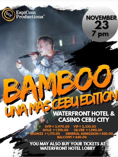 BAMBOO: UNA MAS CEBU EDITION 2019
