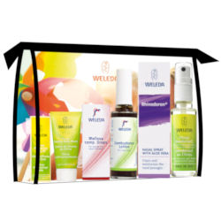 he Weleda Summer Travel Kit