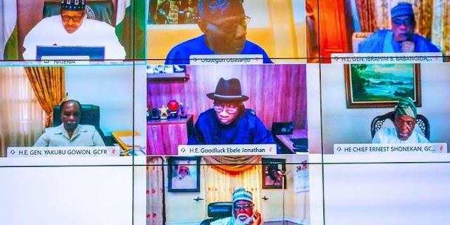 #EndSARS: What Obasanjo, IBB, Jonathan, others told Buhari —Adesina