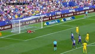 اهداف مباراة برشلونة وليفانتي (1-3) الدوري الاسباني