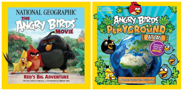 National Geographic Angry Birds Books + Giveaway