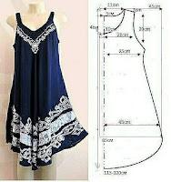 Costura DIY Patrones y medidas