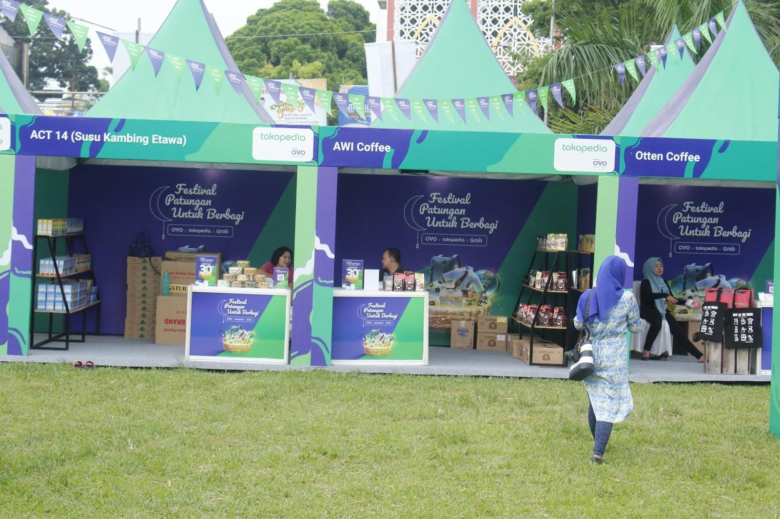 festival patungan untuk berbagi di kota medan