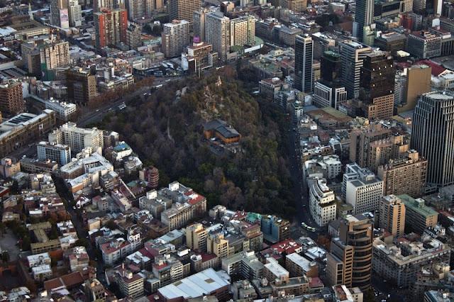 Visitar o Cerro Santa Lucía em Santiago no mês de junho