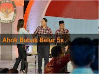Ahok Babak Belur, KO 5 Kali saat Debat Final Pilkada Jakarta 2017