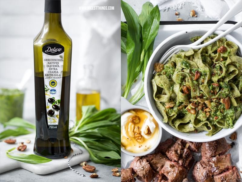 Bärlauch Pesto mit Olivenöl von Lidl Deluxe