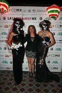 Catrina Fest por Canal 10  con Javier Martínez y Martha Marín