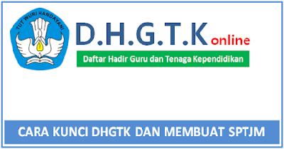 Cara Kunci DHGTK