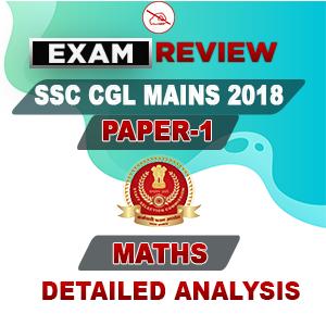 SSC CGL 2018 Tier-II Exam Review | Quantitative Aptitude : 11.09.2019