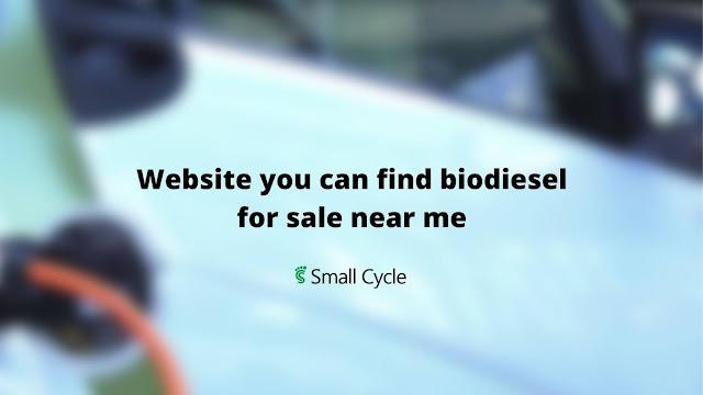 biodiesel for sale near me