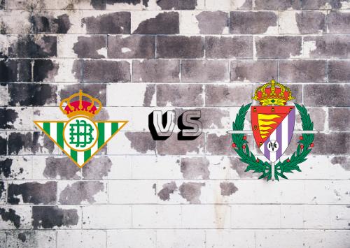 Real Betis vs Real Valladolid  Resumen