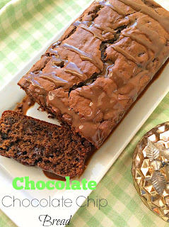 Chocolate Chocolate Chip Bread
