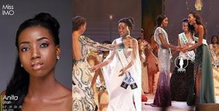 Miss IMO, Anita Ukah Wins MBGN 2018