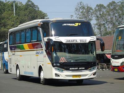 Foto Bus Sinar Jaya 25RE