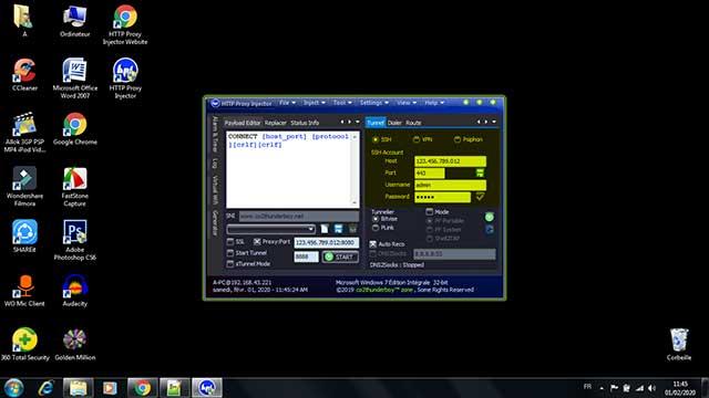 الحاقن للكمبيوتر وكيفية تشغيله على شريحة جيزي