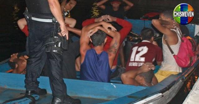 25 balseros venezolanos fueron detenidos al llegar a Trinidad y Tobago