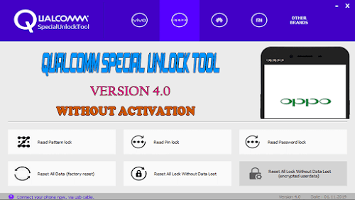 Qualcomm Special Unlock Tool v4.0 Without Activation