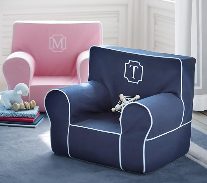 Design trend monogrammed chairs the glam pad for Kids chair with name