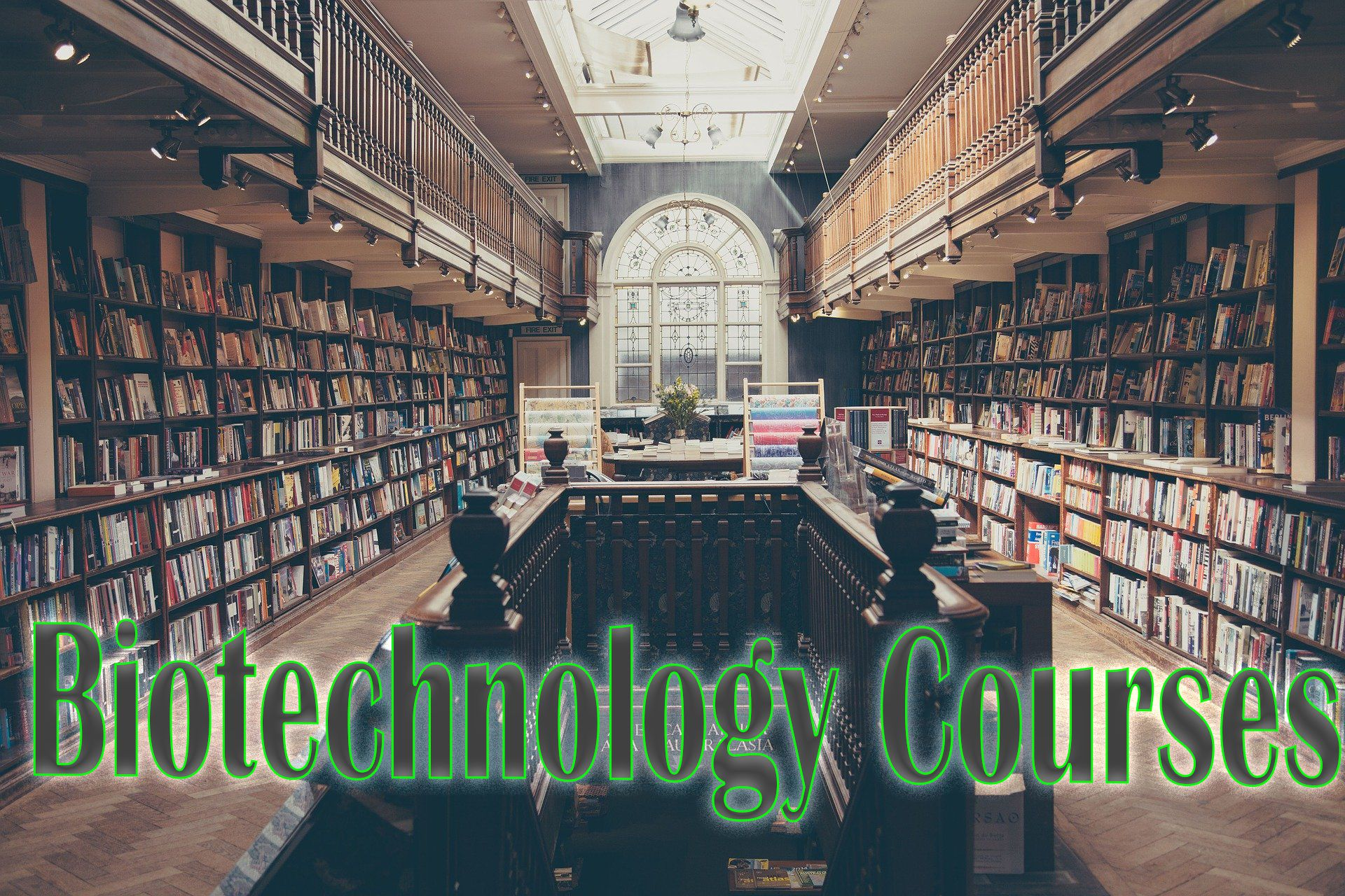 biotechnology courses in India