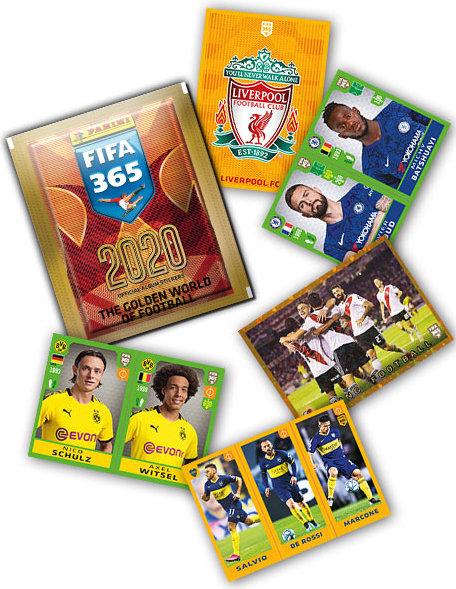 Boca Juniors Logo Panini Fifa 365 2020 Sticker 307