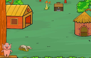 Juegos de Escape - Piggy Land Escape 2