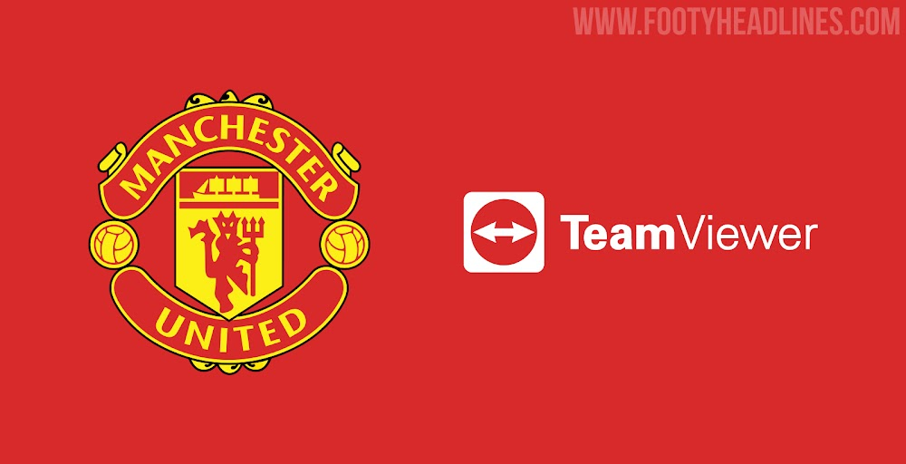 Manchester United Announce TeamViewer Kit Sponsorship Deal - No More  Chevrolet - Footy Headlines