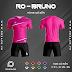 Áo Không Logo Rozaco RO-BRUNO Màu Hồng