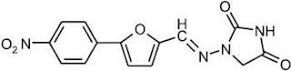 Structure of dantrolene