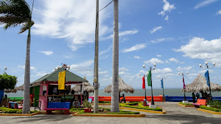 Malecon Managua entrance necessary