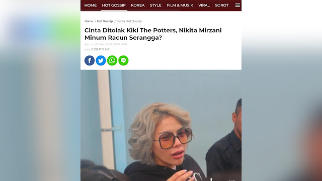 Kiki The Potters Bongkar Wanita Hina Habib Rizieq Pernah Minum Baygon hingga Syaraf Otaknya Putus