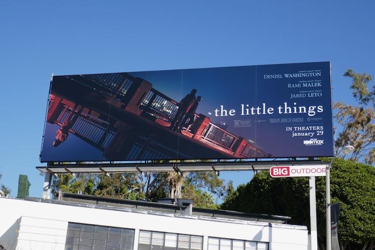 Little Things movie billboard