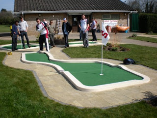 Minigolf at Basingstoke Golf Centre