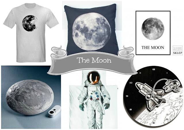 księżyc dekoracje