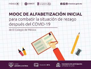 MOOC de alfabetización inicial para combatir la situación de rezago después del COVID-19