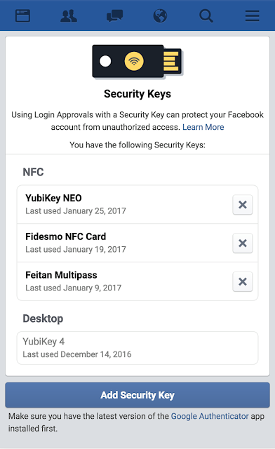 Here's how you can protect your Facebook account with a USB security key