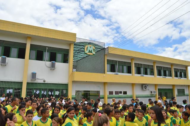LOCAL: Colégio Municipal Osvaldo Benício, comemora 30 anos de fundação nesta semana.