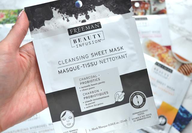 Freeman Cleansing Sheet Mask Review