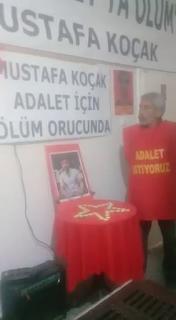 Ankara TAYAD'lı Aileler Mustafa Koçak İçin 35 Gündür Açlık Grevinde