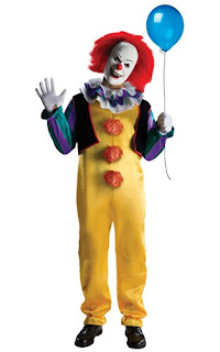 Pennywise Halloween Costume, Stephen King It Clown Costume, Stephen King Store