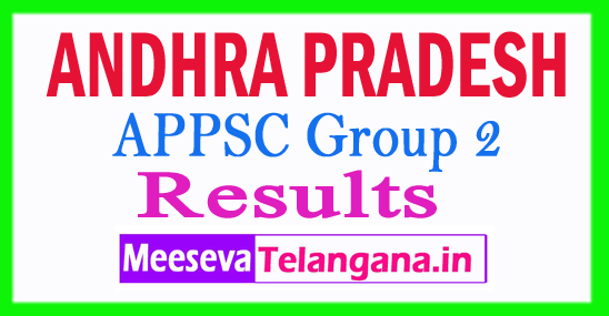 APPSC Group 2 Results 2018