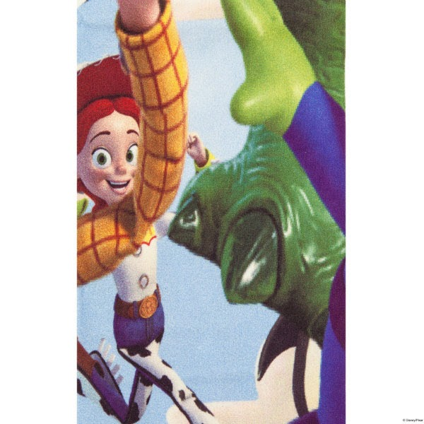 close up of Toy Story tights with Jessie character