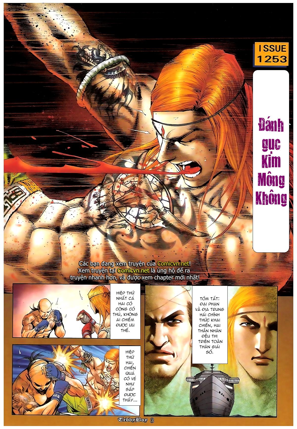 Người Trong Giang Hồ - Chapter 1253: Đánh gục Kim Mông Không - Pic 2