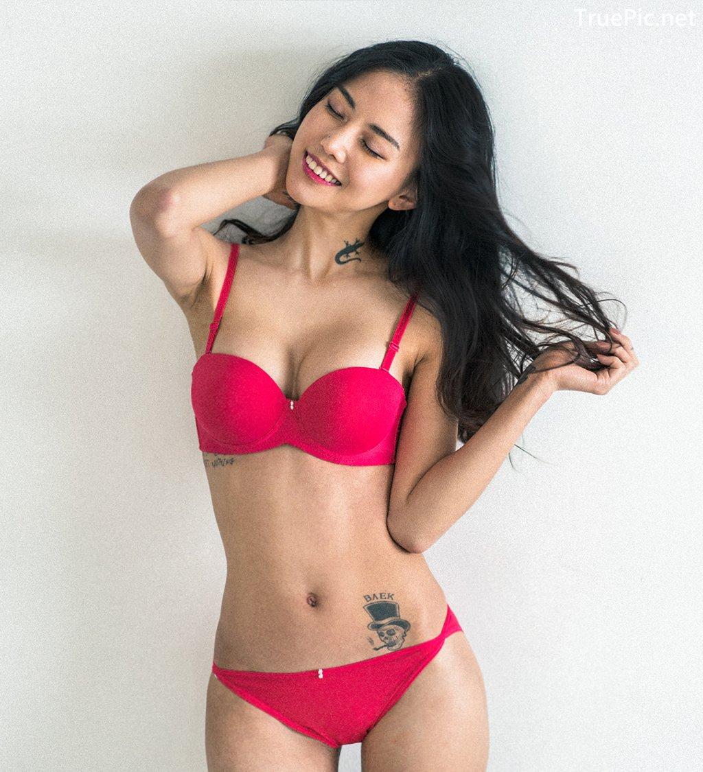 Image Korean Fashion Model – Baek Ye Jin – Sexy Lingerie Collection #3 - TruePic.net - Picture-3