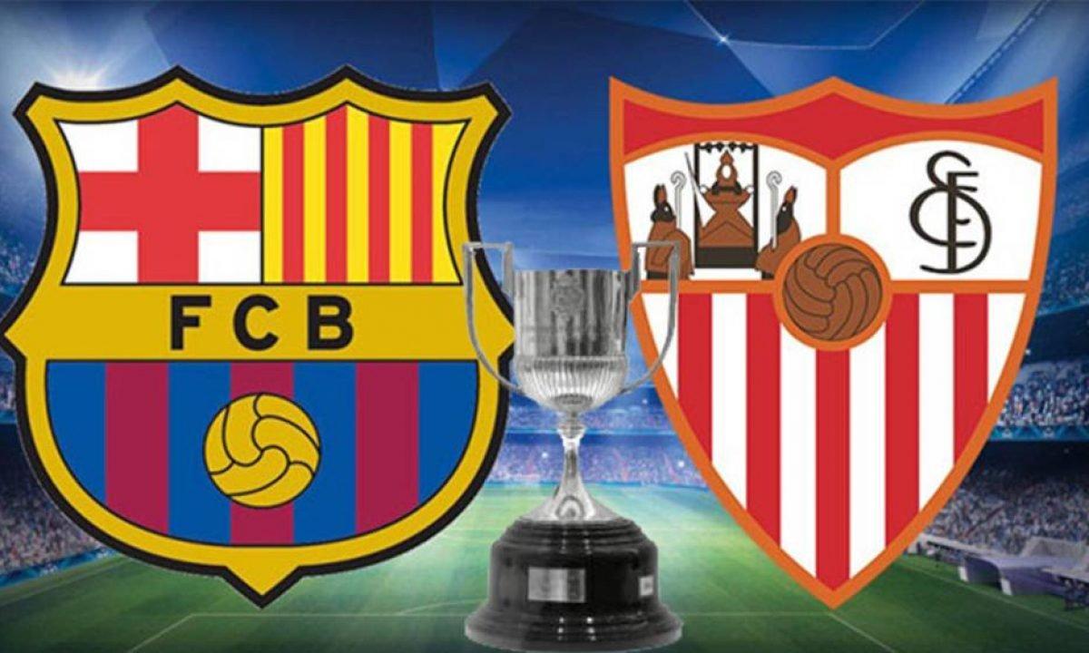 كل ما تريد معرفته عن مباراة برشلونة ضد إشبيلية اليوم في كأس ملك إسبانيا