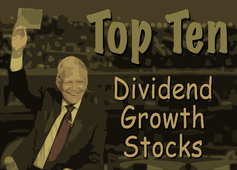 10 Dividend Growth Stocks For June 2018