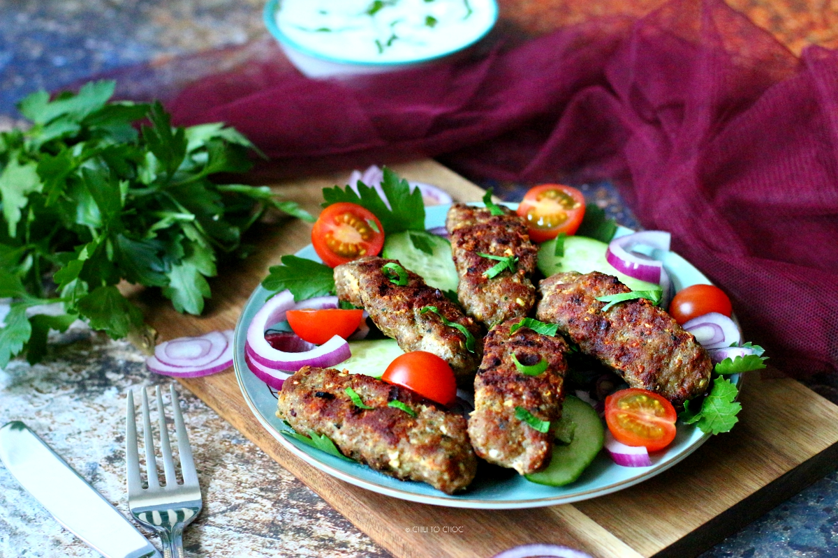 Lebanese Kafta Kebabs - recipe
