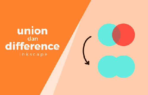 union dan difference inkscape